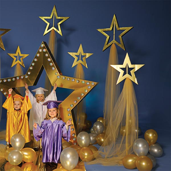 Shining stars complete theme anderson 39 s for 7 star balloon decoration