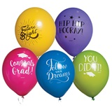 Graduation Message Balloons