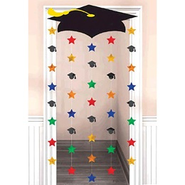 Grad Cap Door Curtain