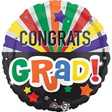 Congrats Grad Celebration Foil Balloon