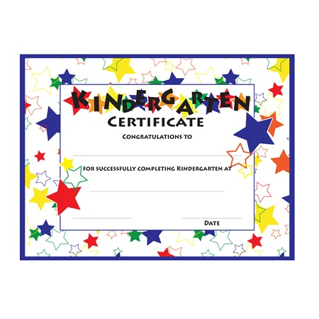 Kindergarten Color Craze Diplomas, 30/pkg
