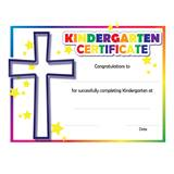 Kindergarten Colorful Faith Certificates, 30/pkg
