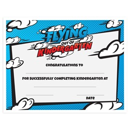 Flying Out of Kindergarten Certificates Pack