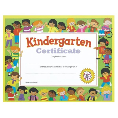 Diplomas and Certificates Kids Graduation – Certificate of Achievement for Kids