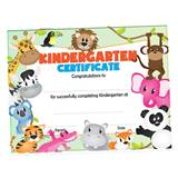 Kindergarten Certificate--Animals