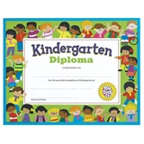 Kindergarten Diploma with Kids