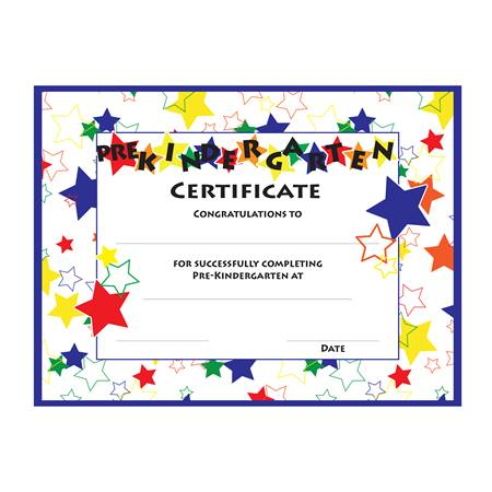 Pre-Kindergarten Color Craze Diplomas, 30/pkg