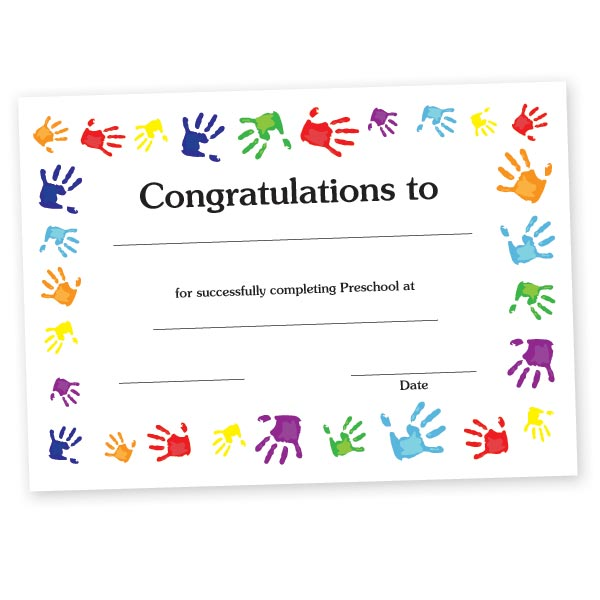 personalized certificates anderson s