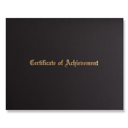 Diploma Cover - Certificate of Achievement