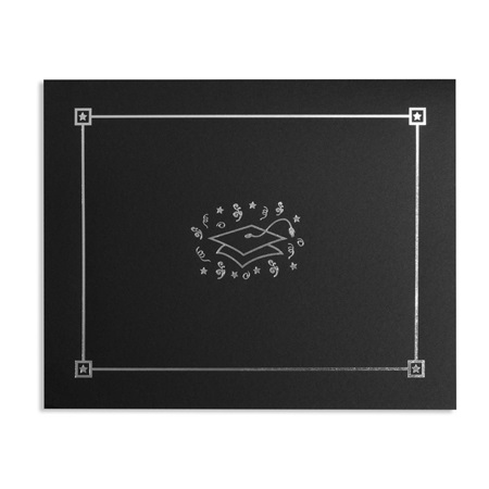 Diploma Cover - Graduation Cap