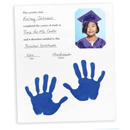 Photo Keepsake Diploma