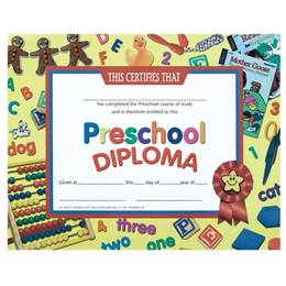 Preschool Diploma - Books