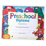 Preschool Diploma--Monsters