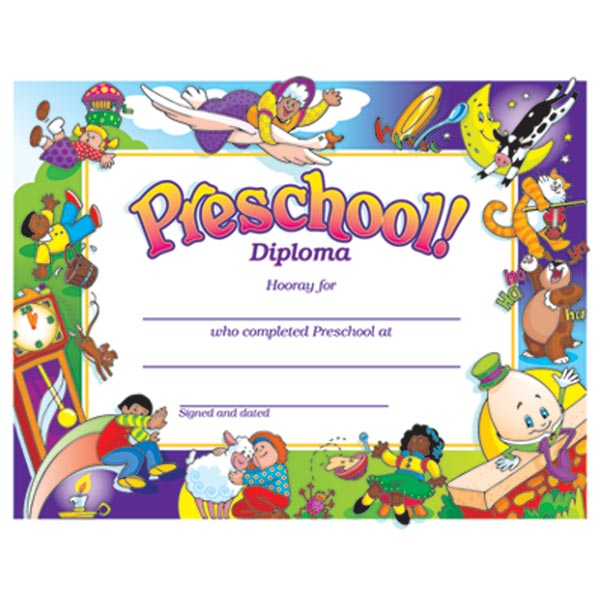 Preschool Diploma Nursery Rhymes