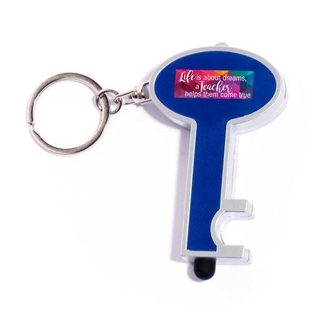 Stylus Key Chain - Life is About Dreams