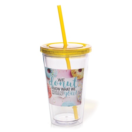 We Donut Know What We Would Do Without You Acrylic Tumbler
