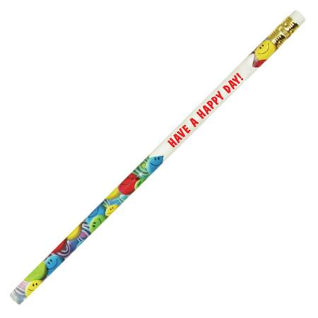 Colorful Smiley Faces Custom #2 Pencil