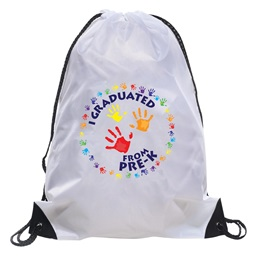 I Graduated From Pre-K Handprint Backpack