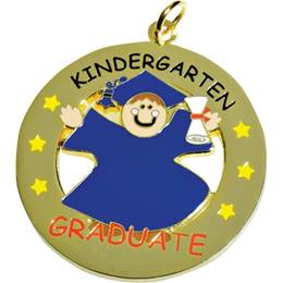 Die-cut Medallion - Kindergarten Graduate Boy