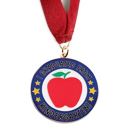 Graduation Medallion - I Graduated From Kindergarten