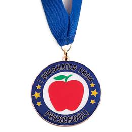 Graduation Medallion - I Graduated From Preschool