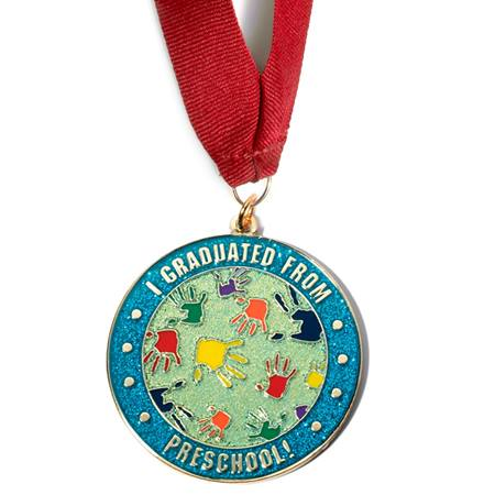 Pre-School Graduation Medallion