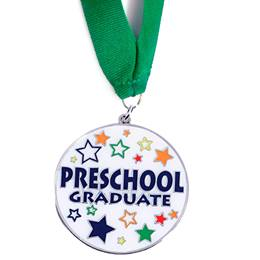 Preschool Graduate Medallion - Star Craze