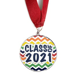 Class of 2021 Medallion - Chevrons