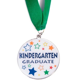 Kindergarten Graduate Medallion - Star Craze