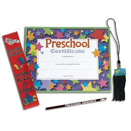 Preschool Tassel Award Set