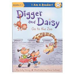 Early Reader Book - Digger and Daisy Go to the Zoo