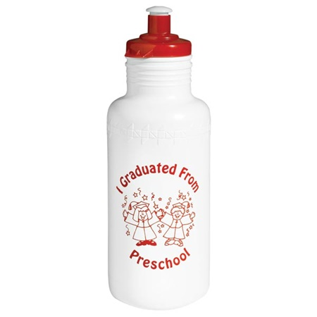 I Graduated From Preschool Water Bottle