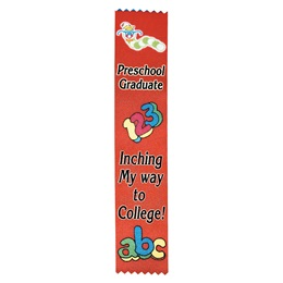 Preschool Grad Full Color Ribbon