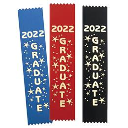 2021 Graduate Gold Foil Ribbon