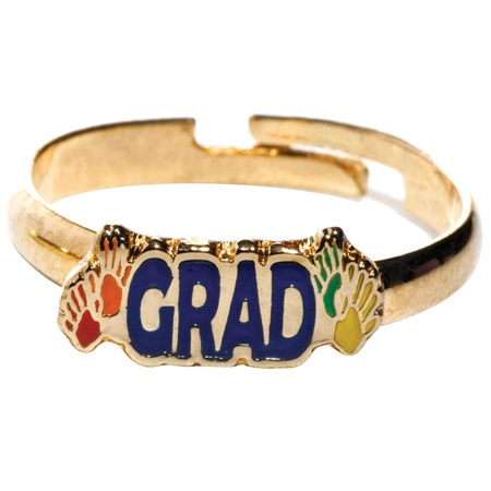 Handprint Graduation Ring