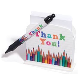 Desk Caddy Set - Thank You Pencils