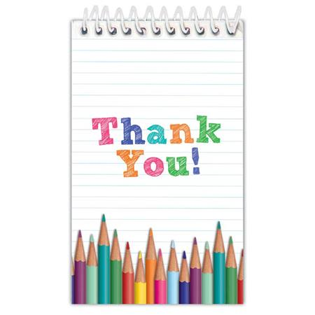 Small Notebook - Thank You Pencils