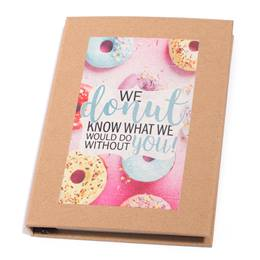 Sticky Notebook Set - We Donut Know What We Would Do Without You