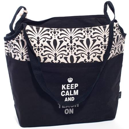 Reversible Tote Bag - Keep Calm and Teach On