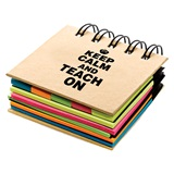 Sticky Notebook - Keep Calm and Teach On
