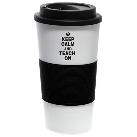 Travel Mug - Keep Calm and Teach On