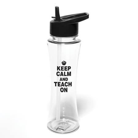 Water Bottle - Keep Calm and Teach On