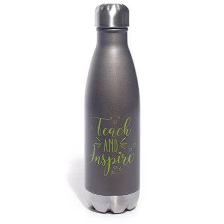 Teach and Inspire - Retro Soda Bottle