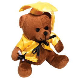 Graduation Bear - Gold