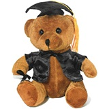 Graduation Bear - Black