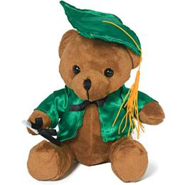 Graduation Bear - Green
