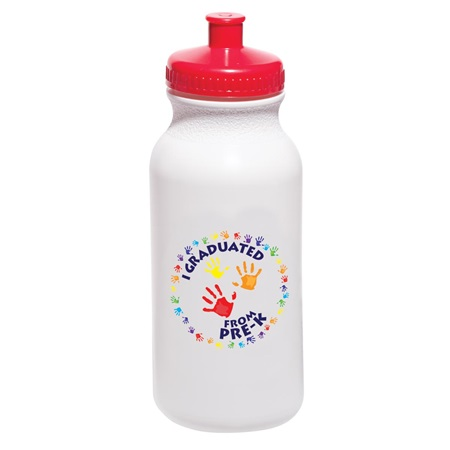 I Graduated From Pre-K Handprint Water Bottle